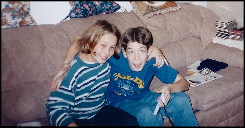 Brian and Mike the younger years